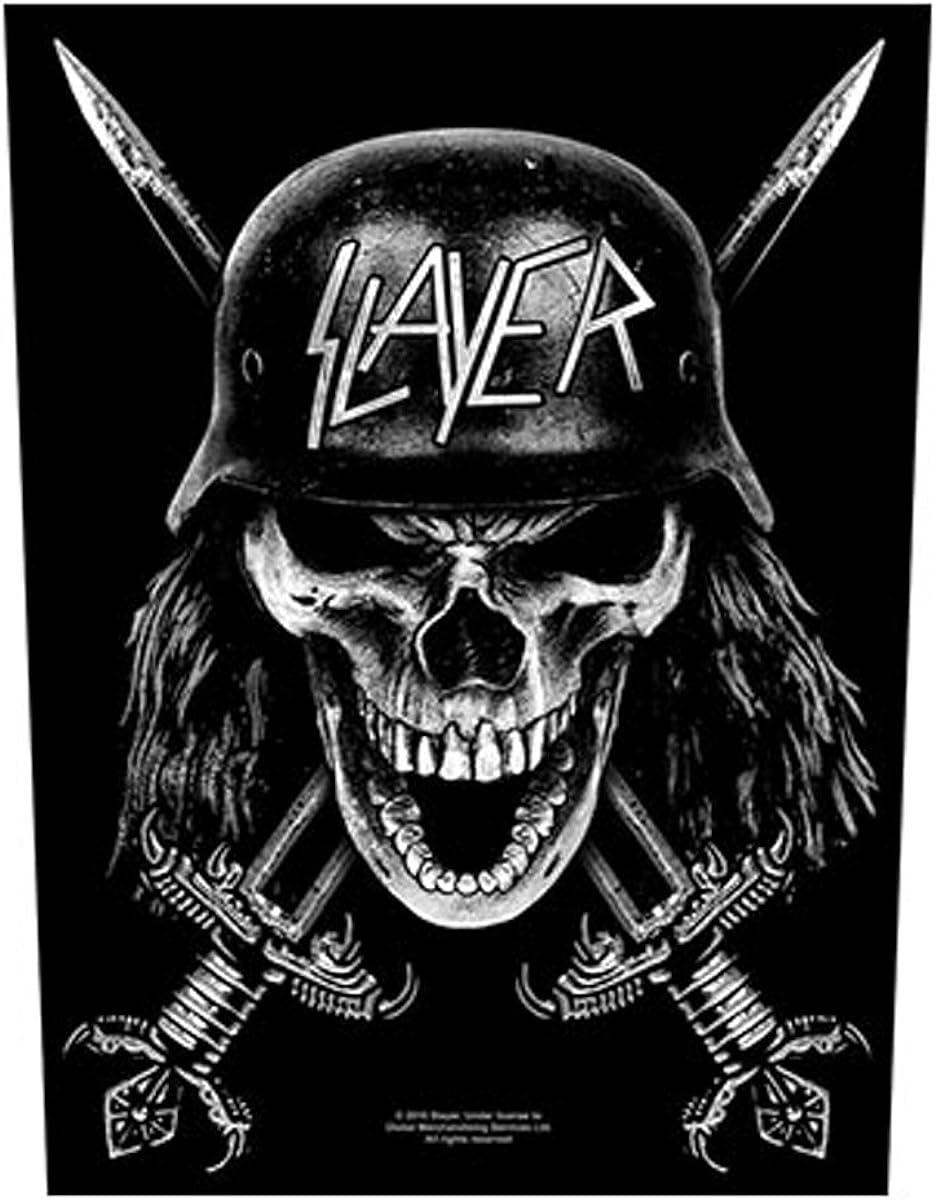 Slayer Wehrmacht officiel 30x36x27cm Patch Arri/ère