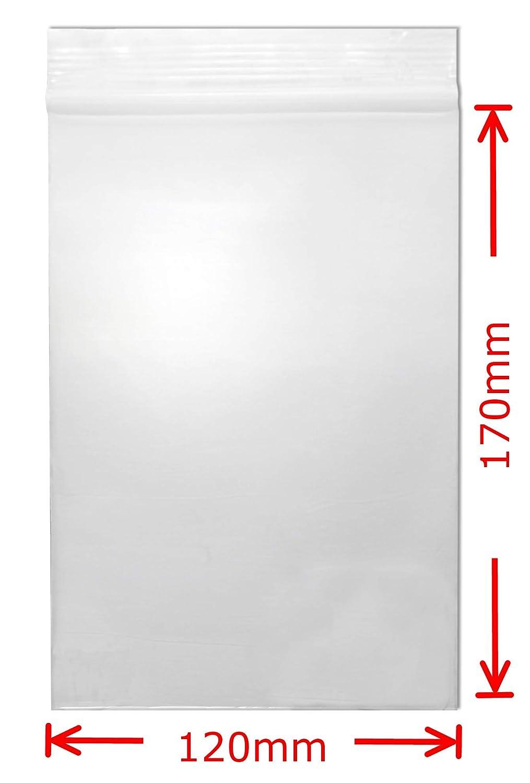 Diverse Misure per 100 Pezzi Welties 50 /μ Sacchetti con Chiusura a Pressione