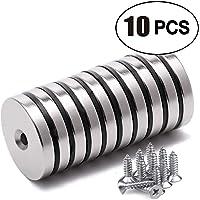 Uolor Pot Magnets Paquete de 10 imanes N52
