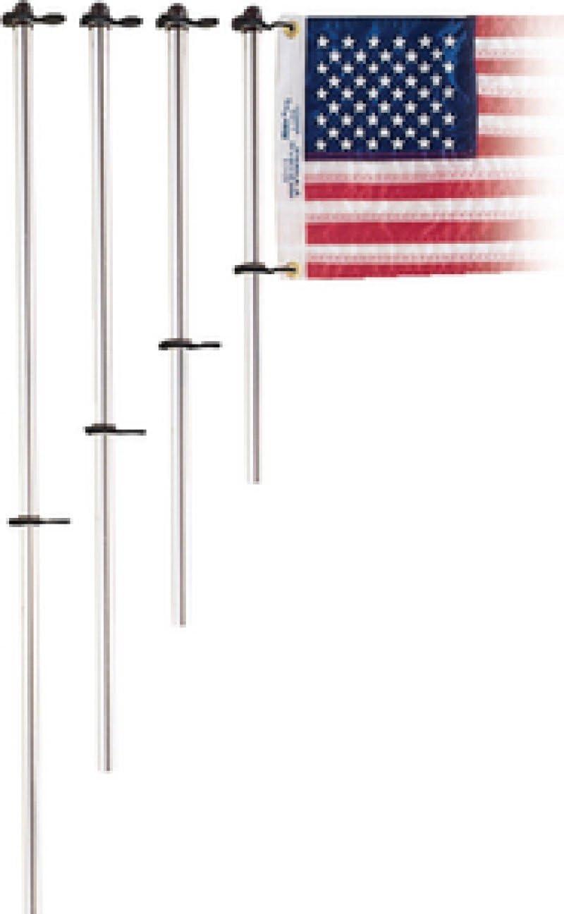 Taylor Made Products 919 Poste de Aluminio para Bandera de Barco de 3/4 Pulgadas con Clips Charlevoix (48 Pulgadas): Amazon.es: Deportes y aire libre
