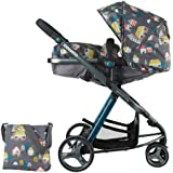 Cosatto Woop Pushchair, Suitable from Birth to 15 kg, Hygee Houses
