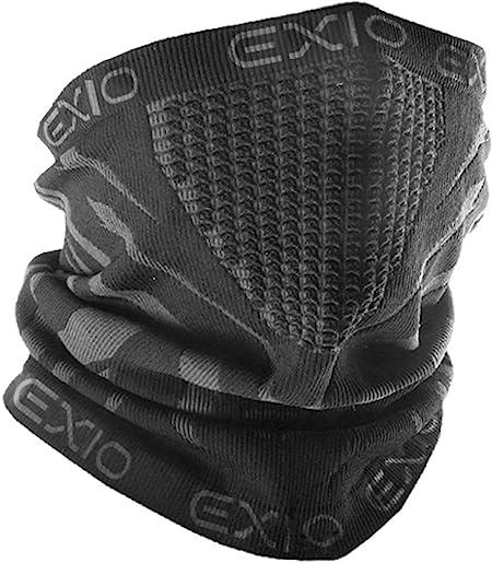 EXIO(エクシオ) ネックウォーマー フリーサイズ 冬 防寒 防風 花粉 バイク スポーツ 速乾