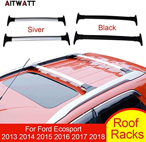 Homeve Portapacchi per Ford Ecosport 2013, 2014, 2015, 2016, 2017