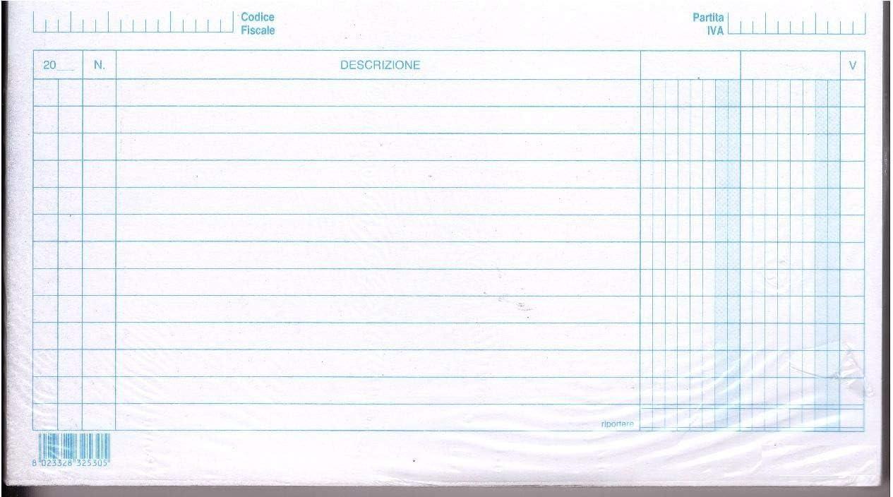 Schede 2 colonne 17x24 100 pz orizzontale schede a righe per schedario