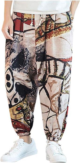 Longra Invierno Otoño Paño Pantalones de Color Puro para Casual ...