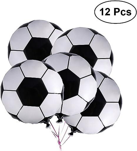 LUOEM Globos de fútbol Balón de fútbol Balón de fútbol Tema Fiesta ...