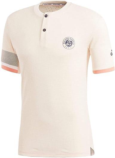 adidas Roland Garros Climachill Tenis T-Shirt - SS18 - L: Amazon.es: Ropa y accesorios