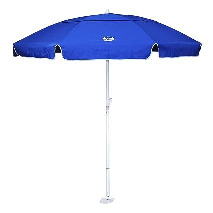 d3ea99a13b dig-git Beach Umbrella w/Integrated Anchor - Royal Blue