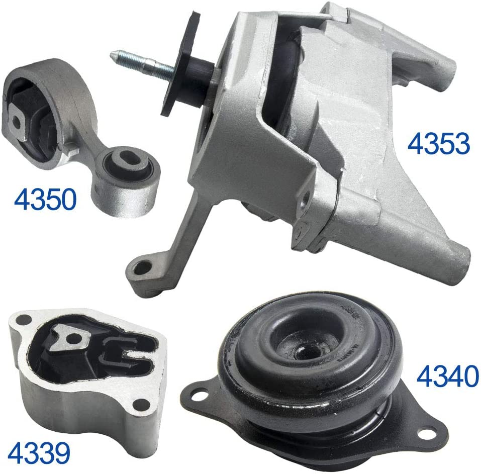 Front Right Engine Motor Mount 07-12 for Nissan Altima 2.5L A4353 11210-JA000