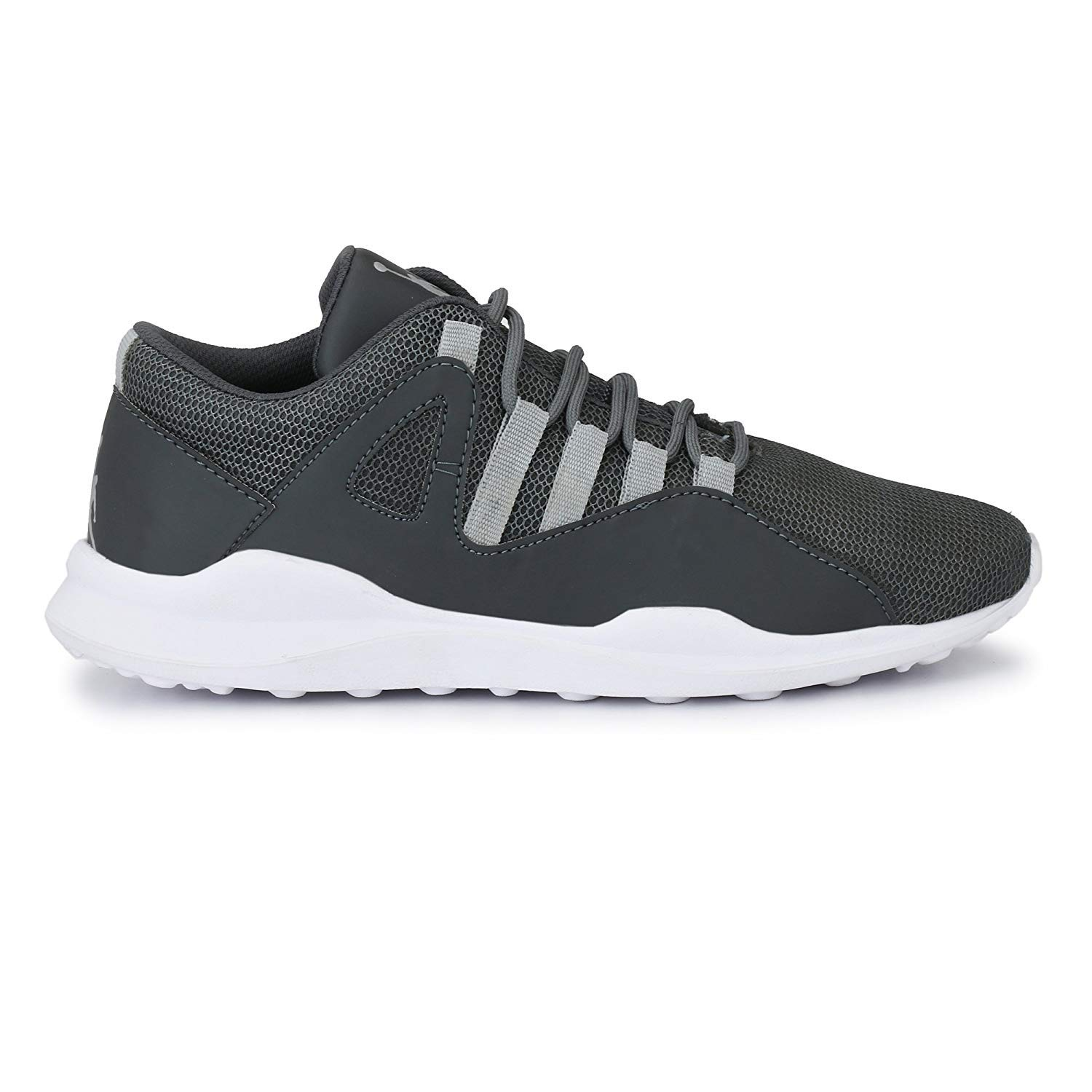 fa3295f50a78 DIGITUS CRUCIS Men s Synthetic Grey Jordan Casual Sneaker Shoes  Buy Online  at Low Prices in India - Amazon.in