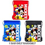 Disney Mickey Mouse and Friends Drawstring Bag Randomly (1 BAG ONLY)