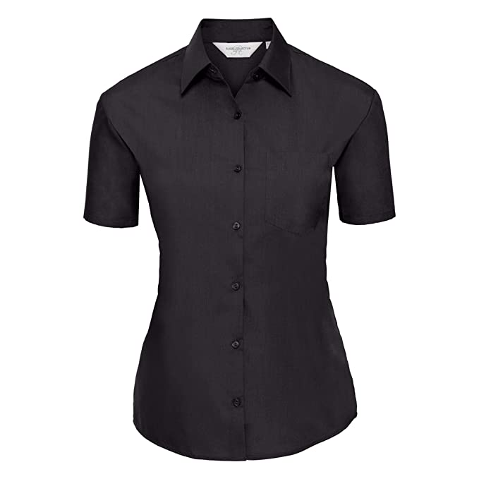 New Womens B/&C Collection Polycotton Round Neck Short Sleeve T-Shirt Size XS-XXL