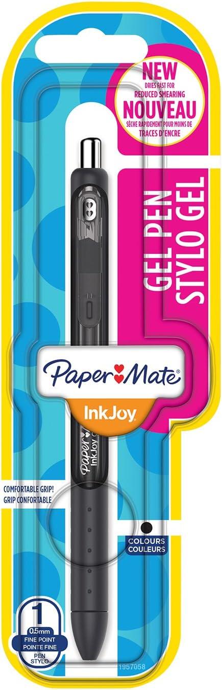 Paper Mate InkJoy Gel Stylo pointe Fine Noir