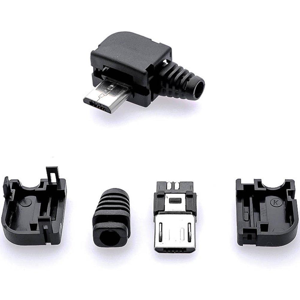 20stk 5Pin Female SMT Micro USB Socket Connector Jacks weiblich Buchse Anschluss