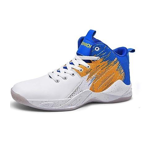 WFWPY High-Top Sneaker Calzado de Baloncesto Zapatillas de ...