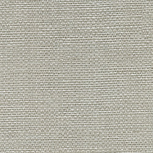 Warner 2758-8026 Bohemian Bling Grey Basketweave Wallpaper,