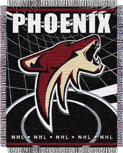 (EveryBlanket.com Phoenix Coyotes Woven NHL Throw - 48