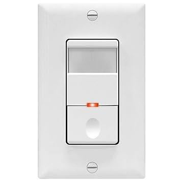 topgreener tdos5-w motion sensor light switch, pir sensor switch, occupancy  sensor light