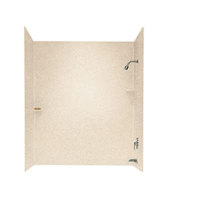 Swanstone SS-72-3-040 Solid Surface Bathtub Wall Panel System, 30 ...
