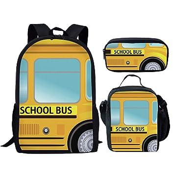 Childrens School Bag Personalised Transport Cars Boys Kids Backpack