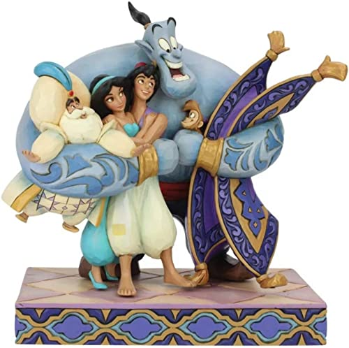Enesco Jim Shore s Aladdin Group Hug Statue Standard