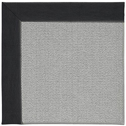 Capel Rugs Inspirit Silver Rectangle Machine Tufted Area Rug, 6 x 6, Onyx