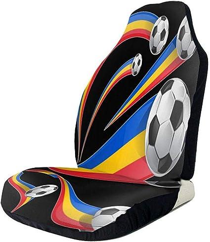 Amazon.es: Conjunto de bandera de Rumanía con balón de fútbol ...