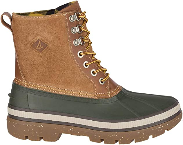 Ice Bay Boot Winter Boot in Olive/Tan