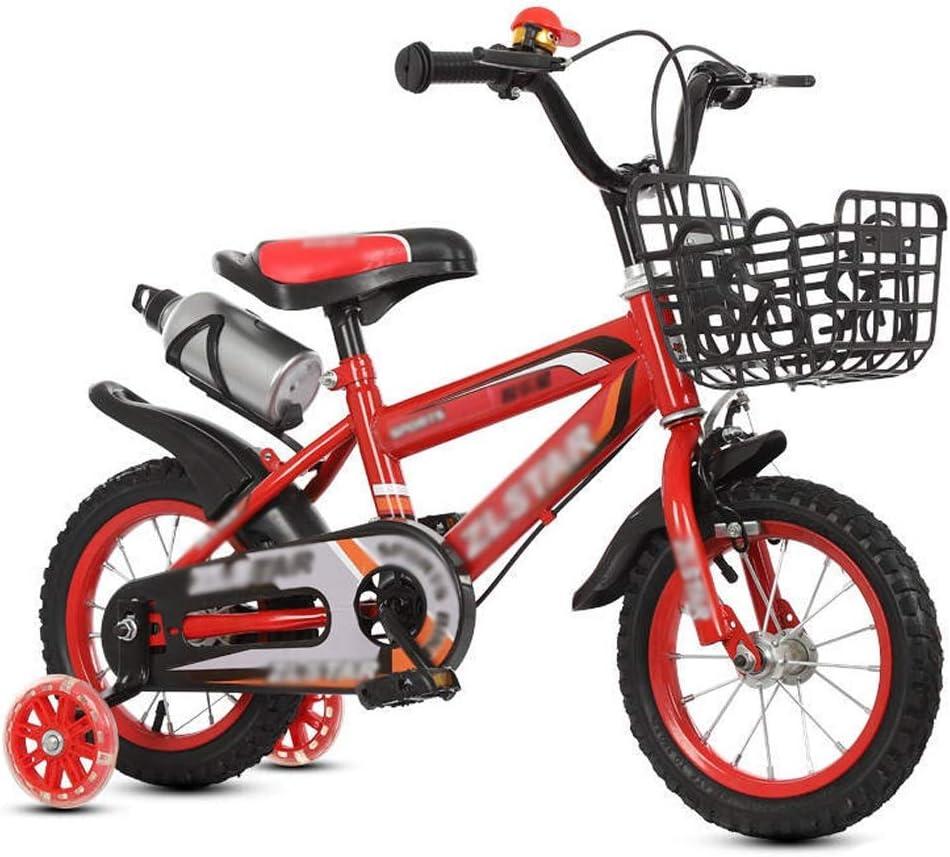 M-YN Bicicleta Niños con Ruedines Estudio de Bicicletas Montar en ...