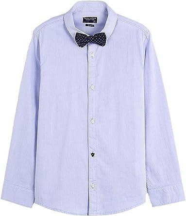 Mayoral, Camisa para niño - 6154, Azul: Amazon.es: Ropa y accesorios