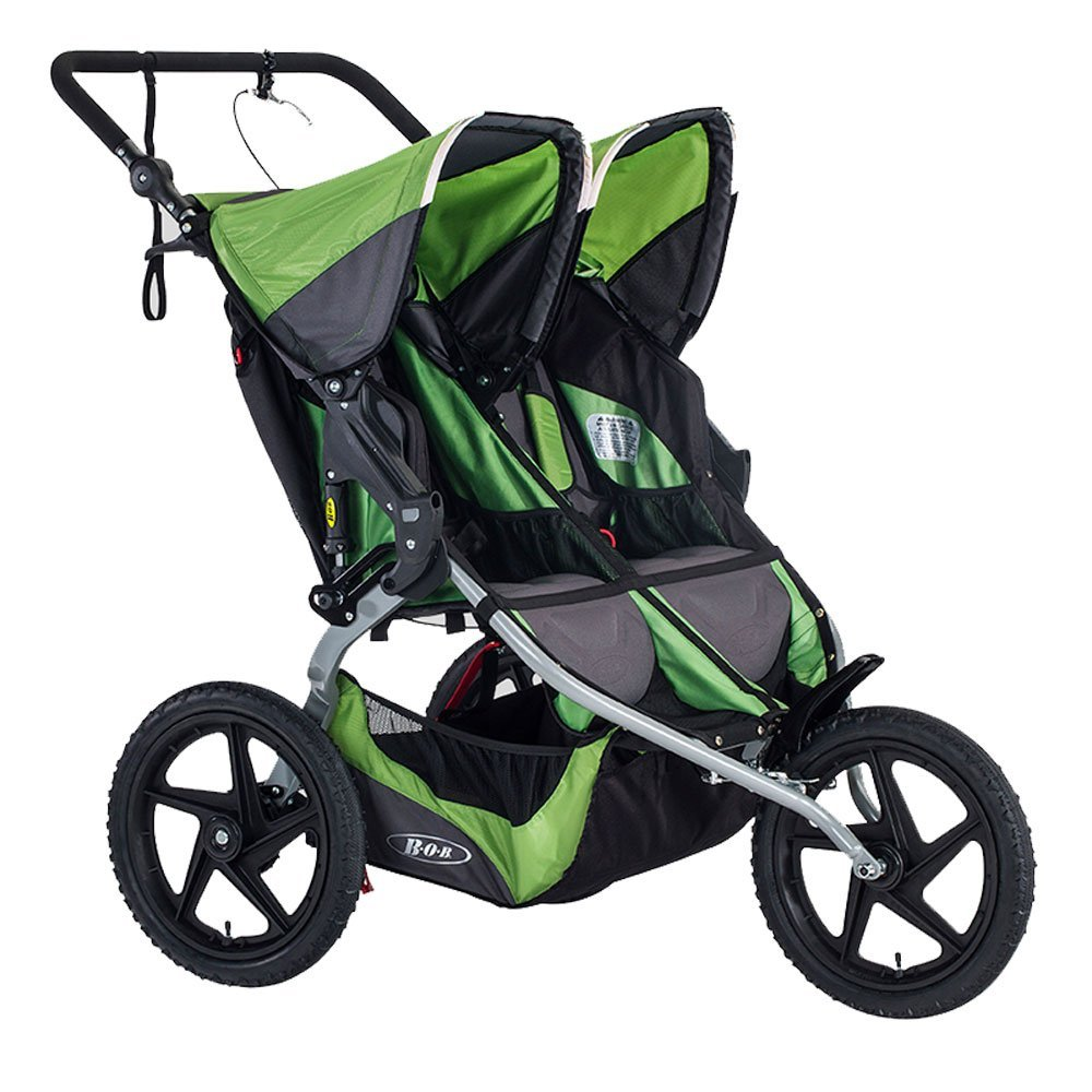 BOB 2016 Sport Utility Stroller Duallie - Meadow with FREE Diaper Bag by BOB (Image #2)