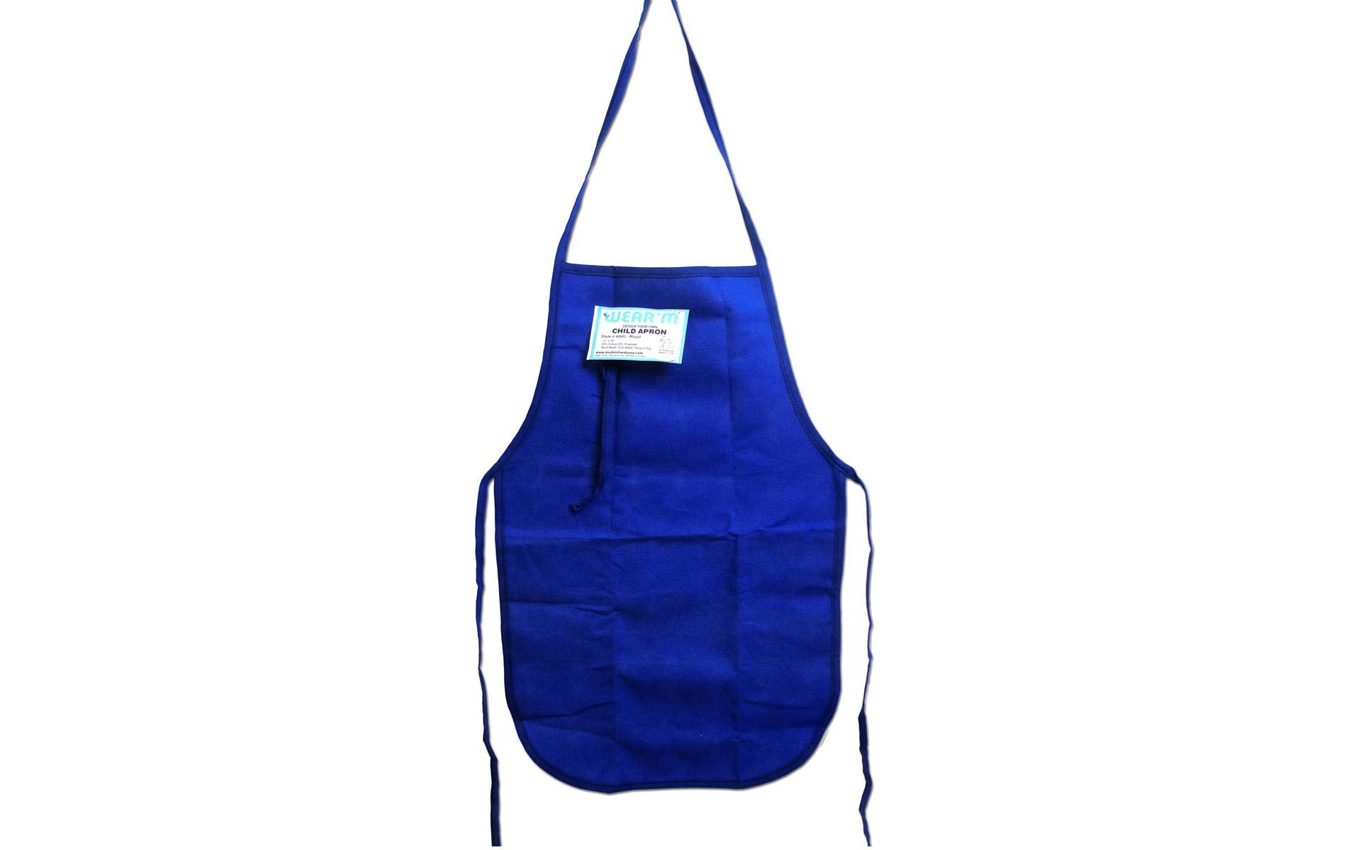 Mark Richards Child Apron, 12 by 19-Inch, Royal