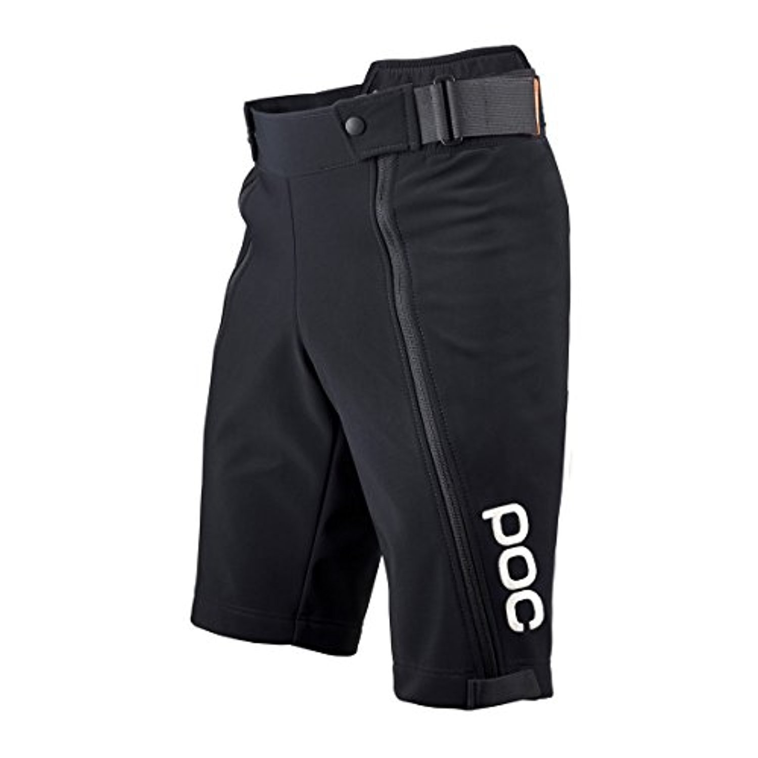 poc Race Shorts Jr. uranium Black 152 & Headband Bundle by POC