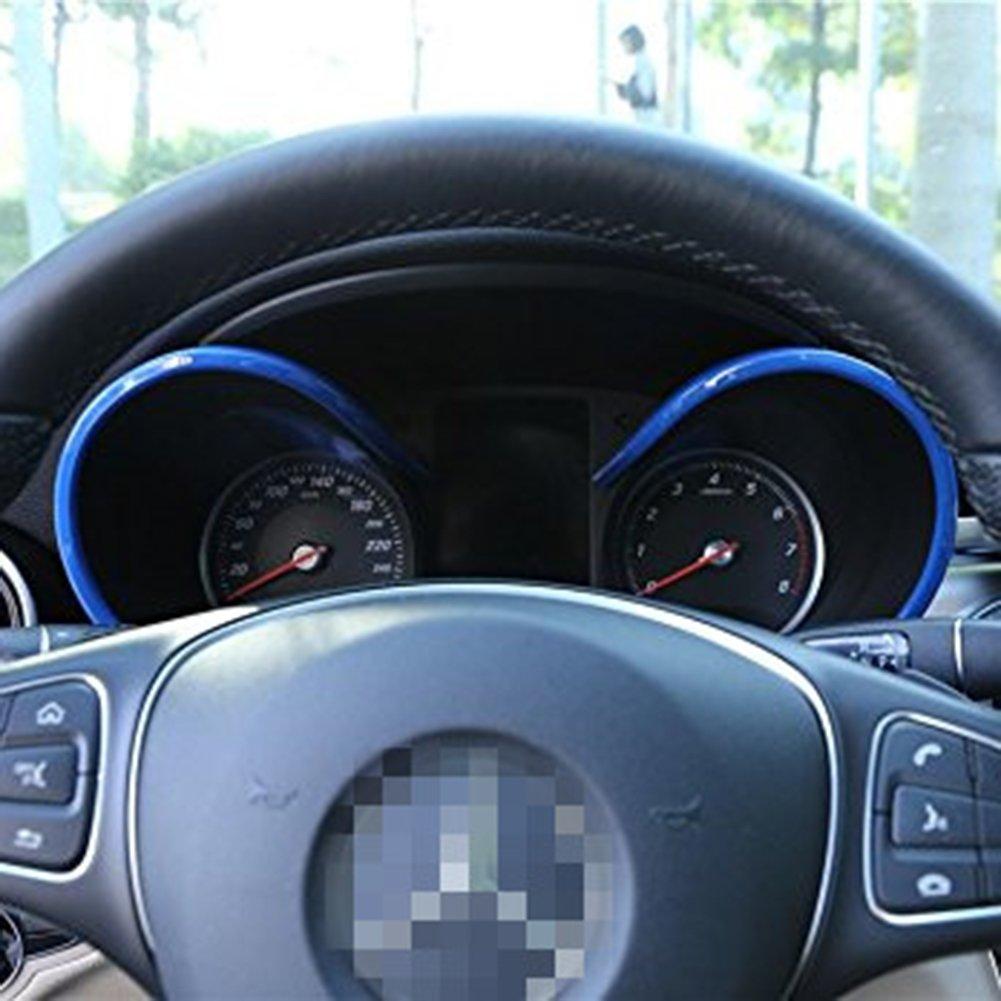 AMG Armaturenbrett Monitor Trim ABS-Kunststoff Zubeh/ör DIY Aufkleber car-styling