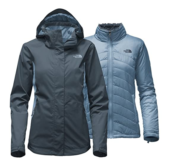 The North Face Women s Mossbud Swirl Triclimate Jacket - Ink Blue    Provincial Blue - XS 4230f7474