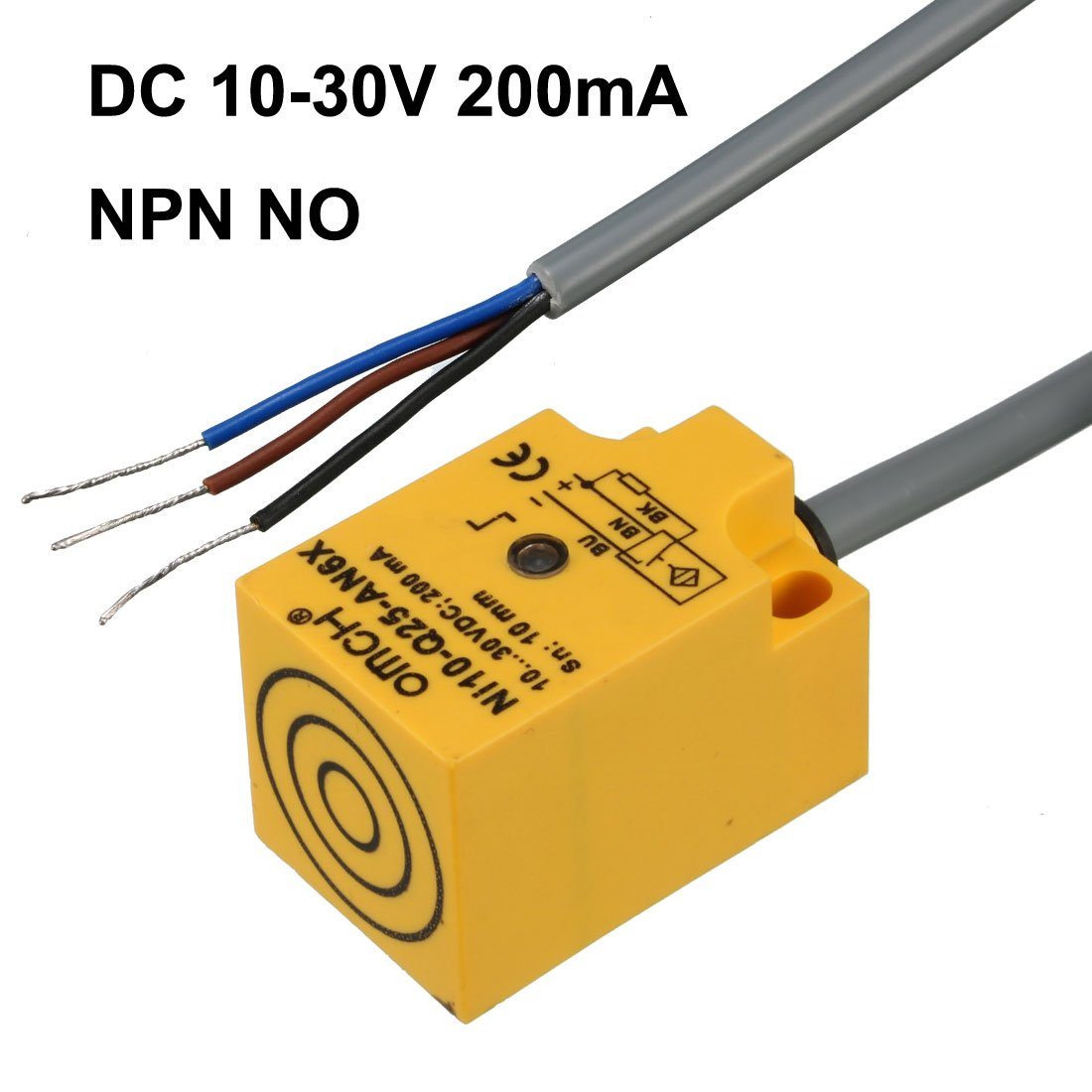 Sn04 P 4mm Approach Sensor Proximity Switch Pnp No Dc 10 Wiring Diagram On Also 30v 200ma Home Improvement