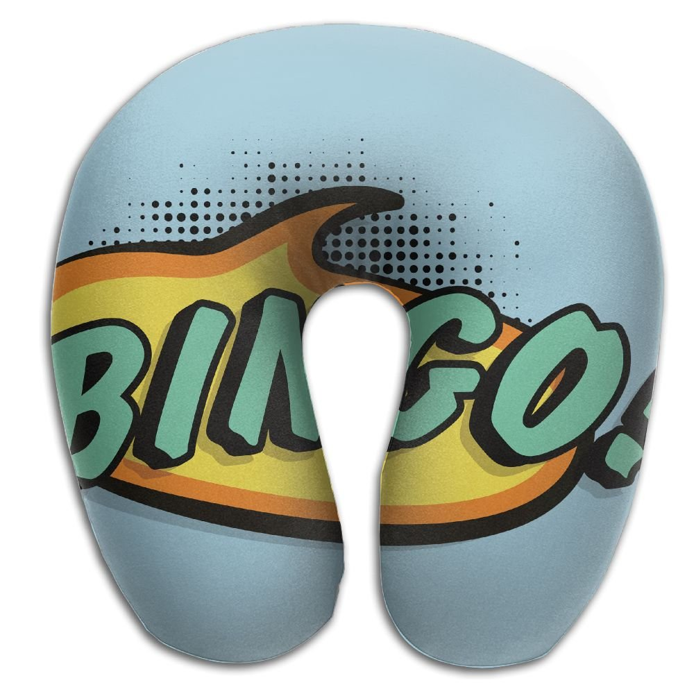 Neck Pillow With Resilient Material Bingo U Type Travel Pillow Super Soft Cervical Pillow