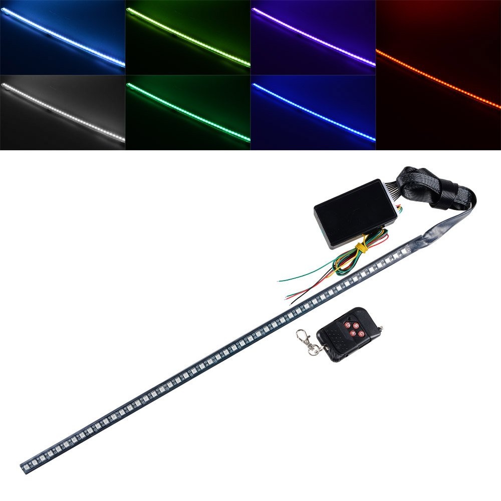 7 Color 48 Smd Scanning Led 22 Knight Rider Strip Light Chaser The Leds In This Circuit Produce A Chasing Pattern Turn Signal Car Interior Lighting Decoration For Chevrolet Aveo Avalanche Camaro