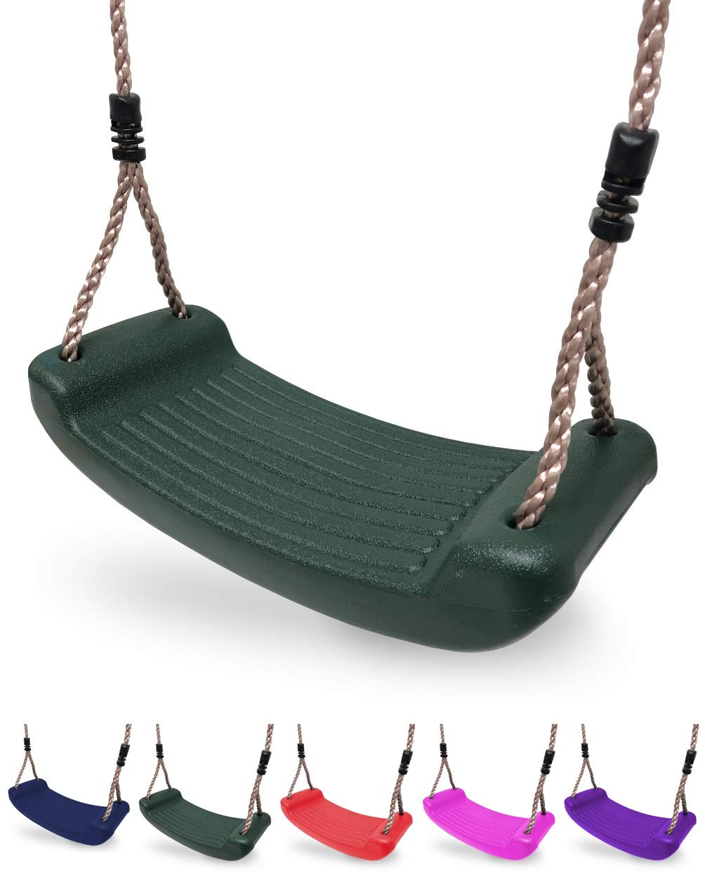 Pair of HIKS Swing Hook Eyes M12 Ideal For Mounting Swings on Climbing Frame or Swing A Frames