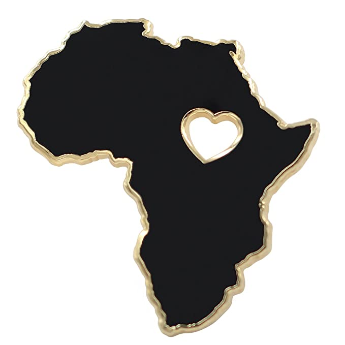 Amazon.com: Real Sic Africa Pin - Wakanda Forever, BLM, pin ...