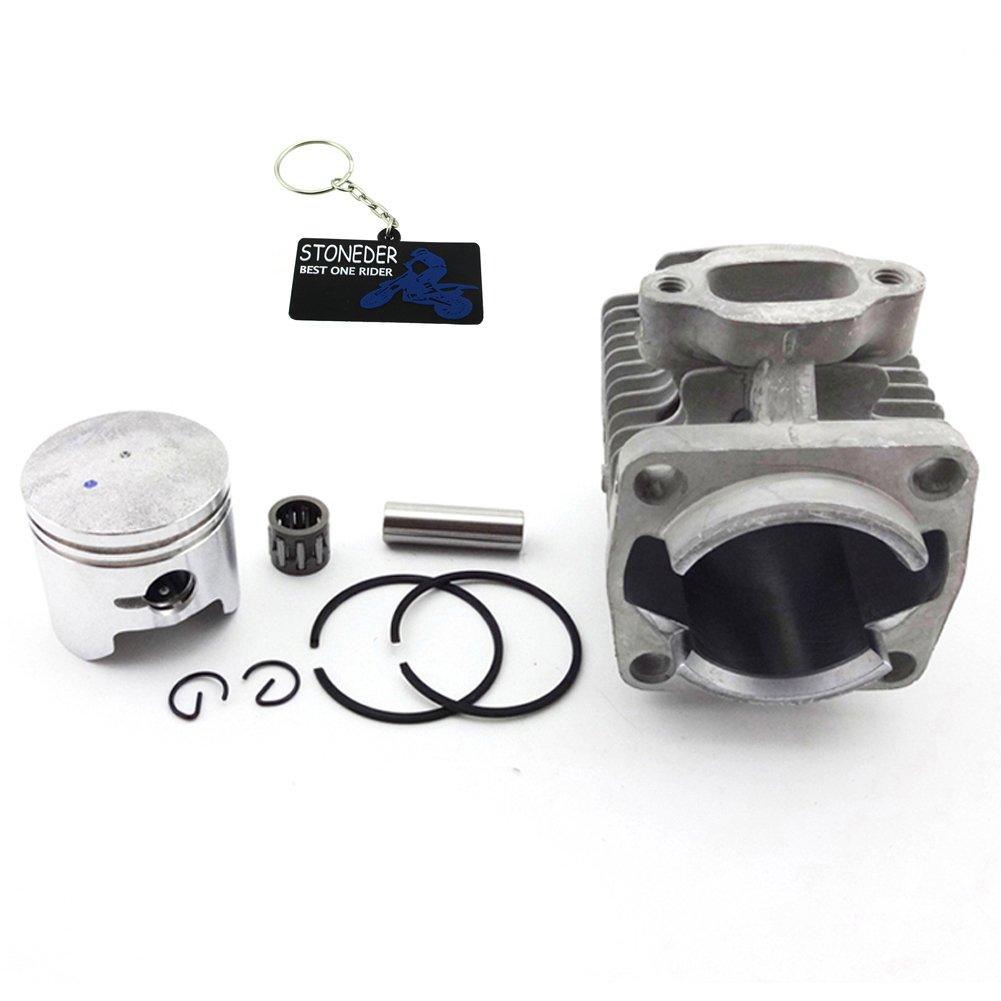 STONEDER 40 mm Zylinder Kolben Kit fü r 47 cc 2 Takt Motor Mini Quad Atv Pocket Dirt Bike