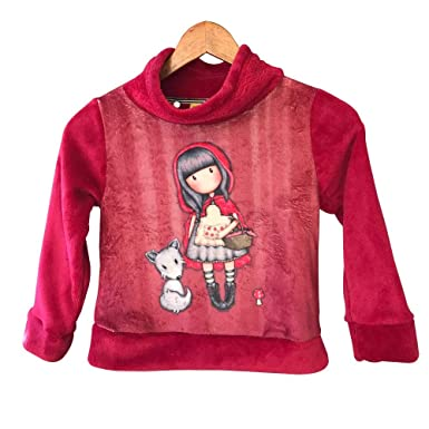 Santoro-London Sudadera Coralina Gorjuss Little Red Riding Hood (8)