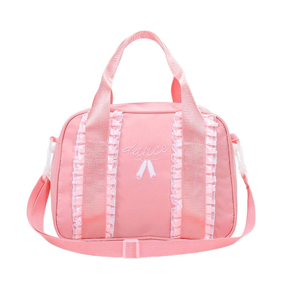 Girls Ballet Latin Dance Tote Handbag Shoulder Bag Messenger Bag