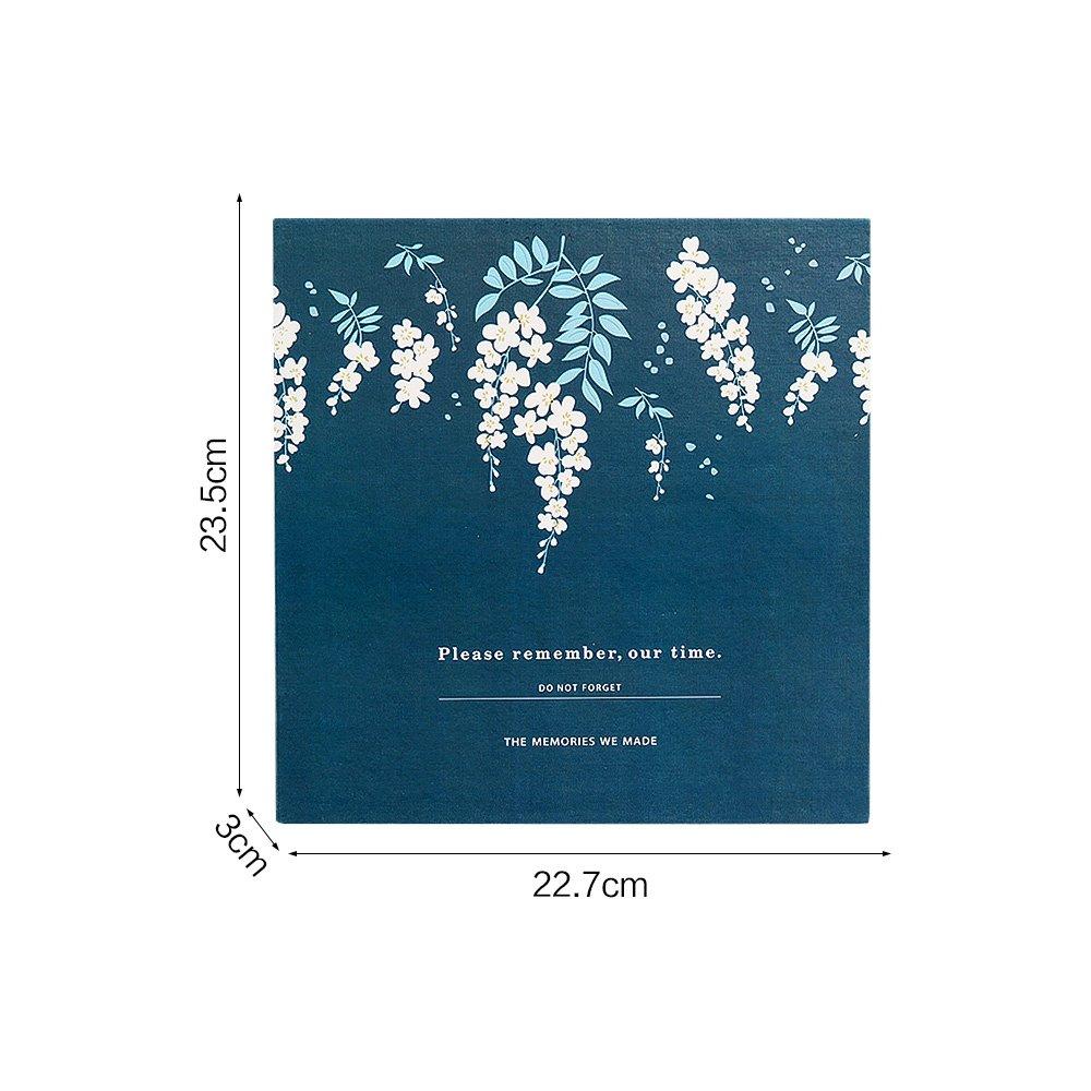 Jia HU 1/pcs DIY Album photo Floral Autocollant albums rempla/çable Art Scrapbooking Flamants roses