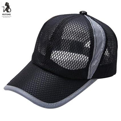 424c1230c20 Image Unavailable. Image not available for. Color  Summer Breathable Mesh  Baseball Cap Men Women Sport Hats Cotton Dad Hat ...