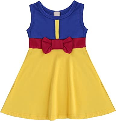 Kids Baby Girl Clothes Minnie Summer Cosplay Party Prom Princess Dresses Outfit