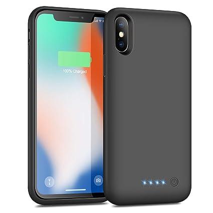 Amazon.com: Funda de batería para iPhone X/XS/10, batería ...