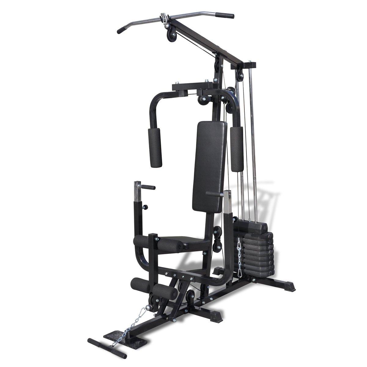 Vidaxl Banc De Musculation Station De Musculation Fitness