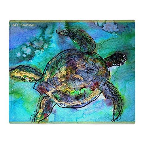 CafePress Sea Turtle, Wildlife Art! Soft Fleece Throw Blanke