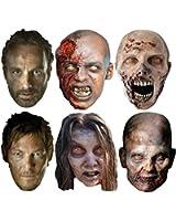 Multipack - 6 Official Walking Dead Face Masks